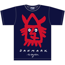 RØD VIKING NAVY T-SHIRT