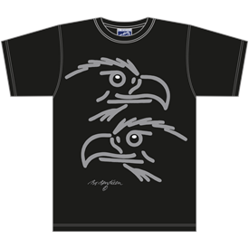 ØRNE SORT T-SHIRT