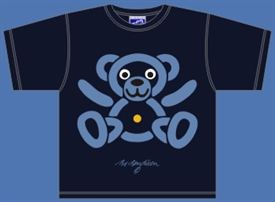 TEDDY BEAR NAVY T-SHIRT