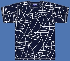 REGATTA NAVY T-SHIRT